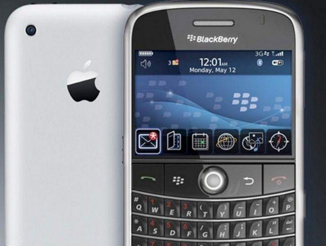 Колишні співробітники blackberry будуть працювати на apple