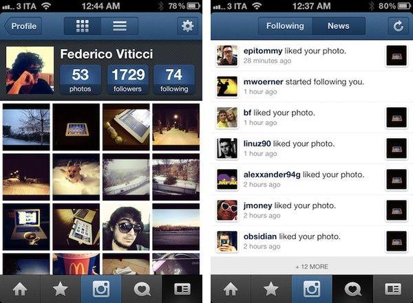 Число користувачів instagram зросла до 30 мільйонів