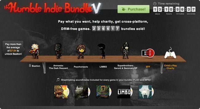 І знову humble indie bundle - кращі інді гри за вашою ціною
