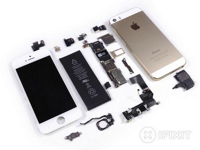 Ifixit розібрали iphone 5s