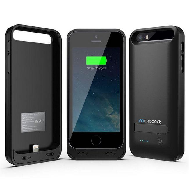 Кращі чохли-батареї для iphone se
