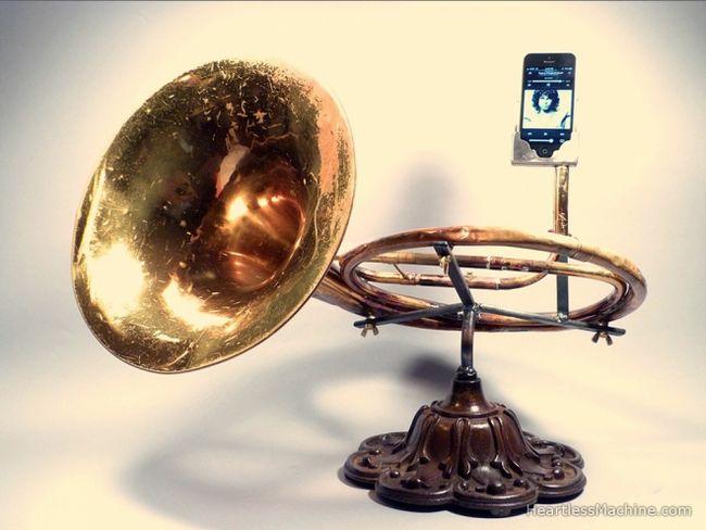 Мідно-духові доки для iphone, або друге життя старого тромбона