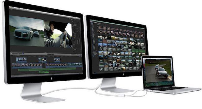 На wwdc представлять thunderbolt display з роздільною здатністю 5k і вбудованим графічним процесором