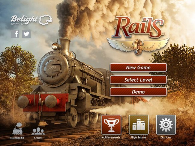 Rails - самі поездатие поїзда