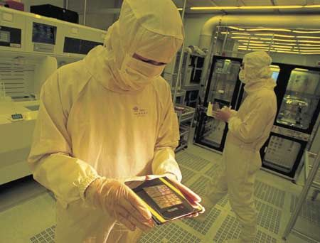 Виробництво процессорв в TSMC