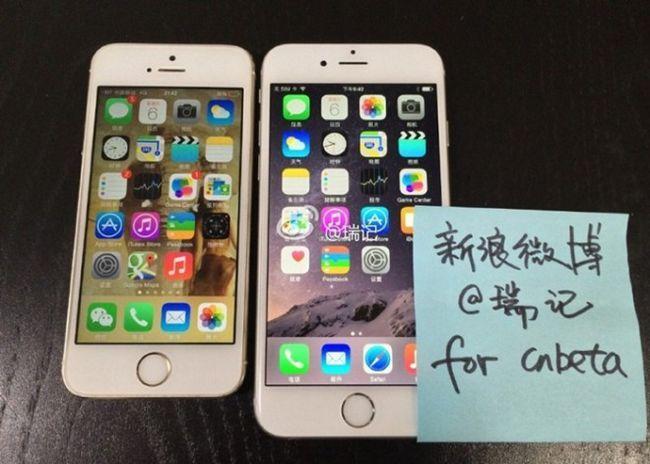 Включений iphone 6 на фото і відео